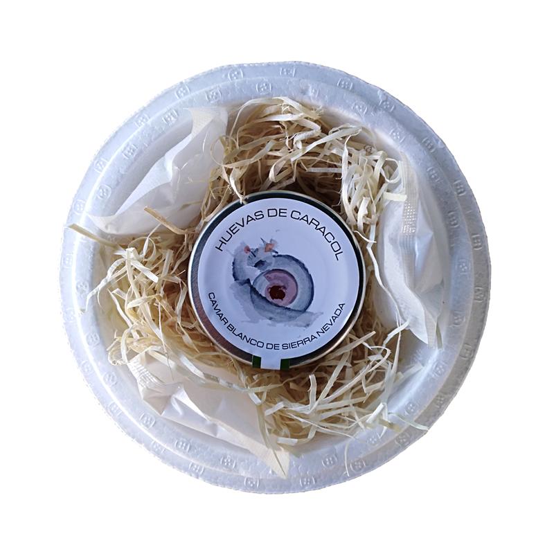 Caviar blanco de Sierra Nevada